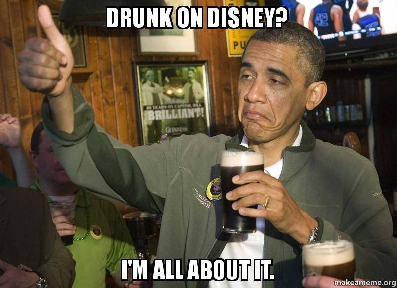 Presidential Package of Drunk On Disney