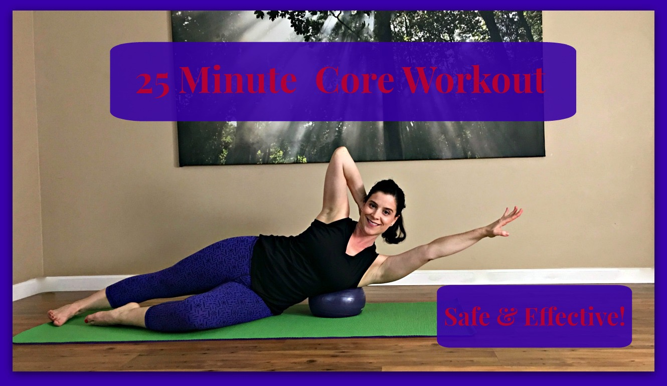 25 Minute Core Workout