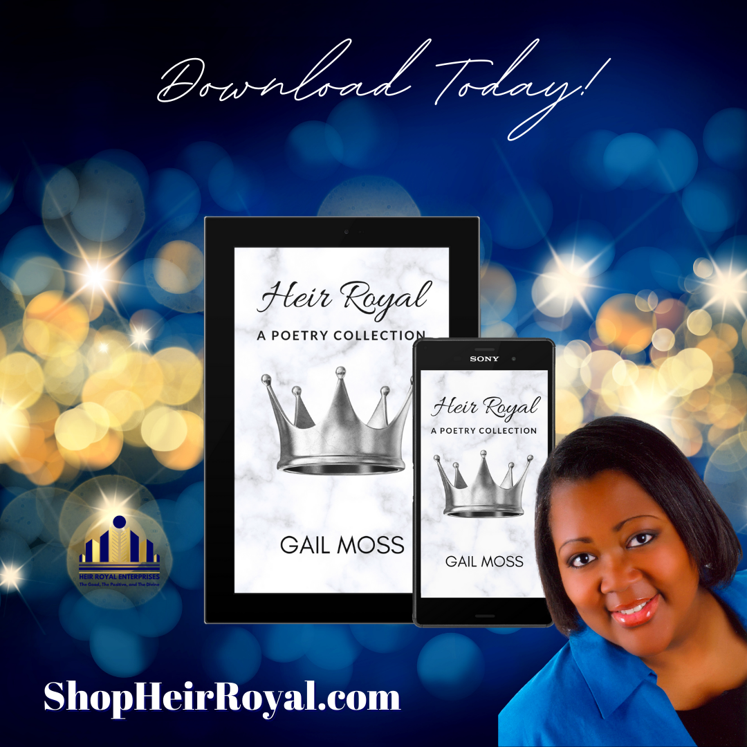 e-book: Heir Royal, A Poetry Collection by Gail Moss