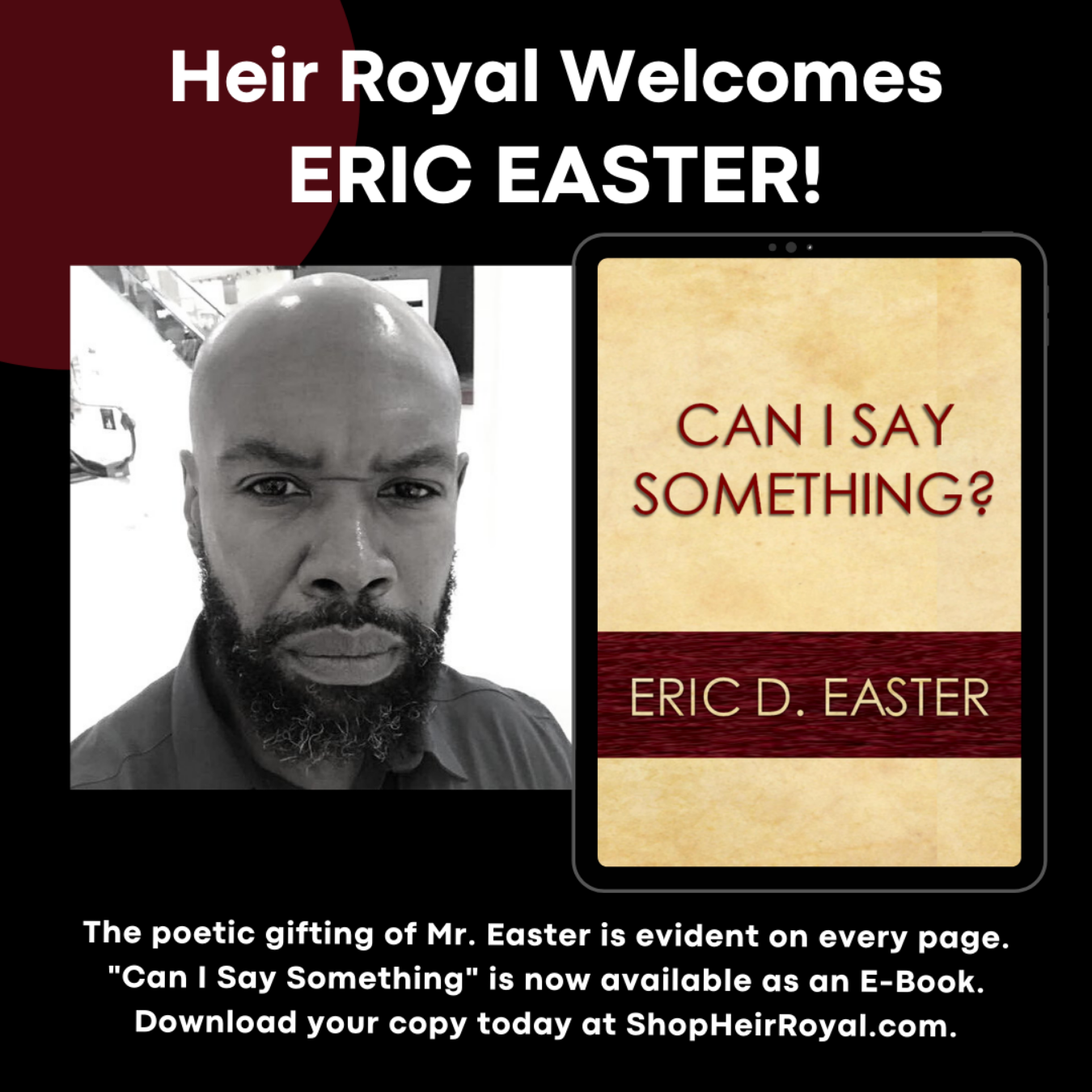 Can I Say Something? Eric D. Easter - ebook