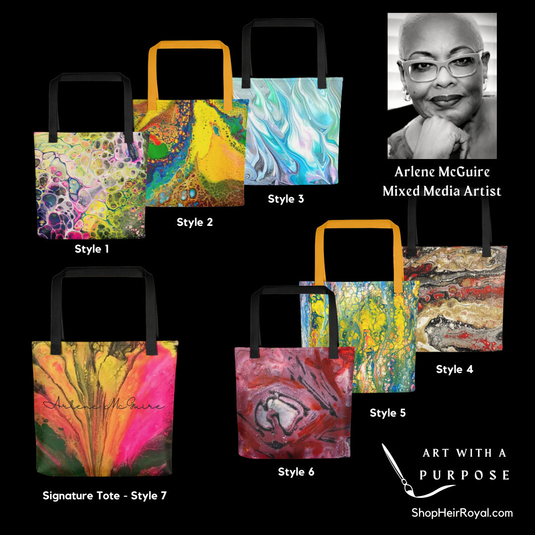Art Totes by Arlene McGuire