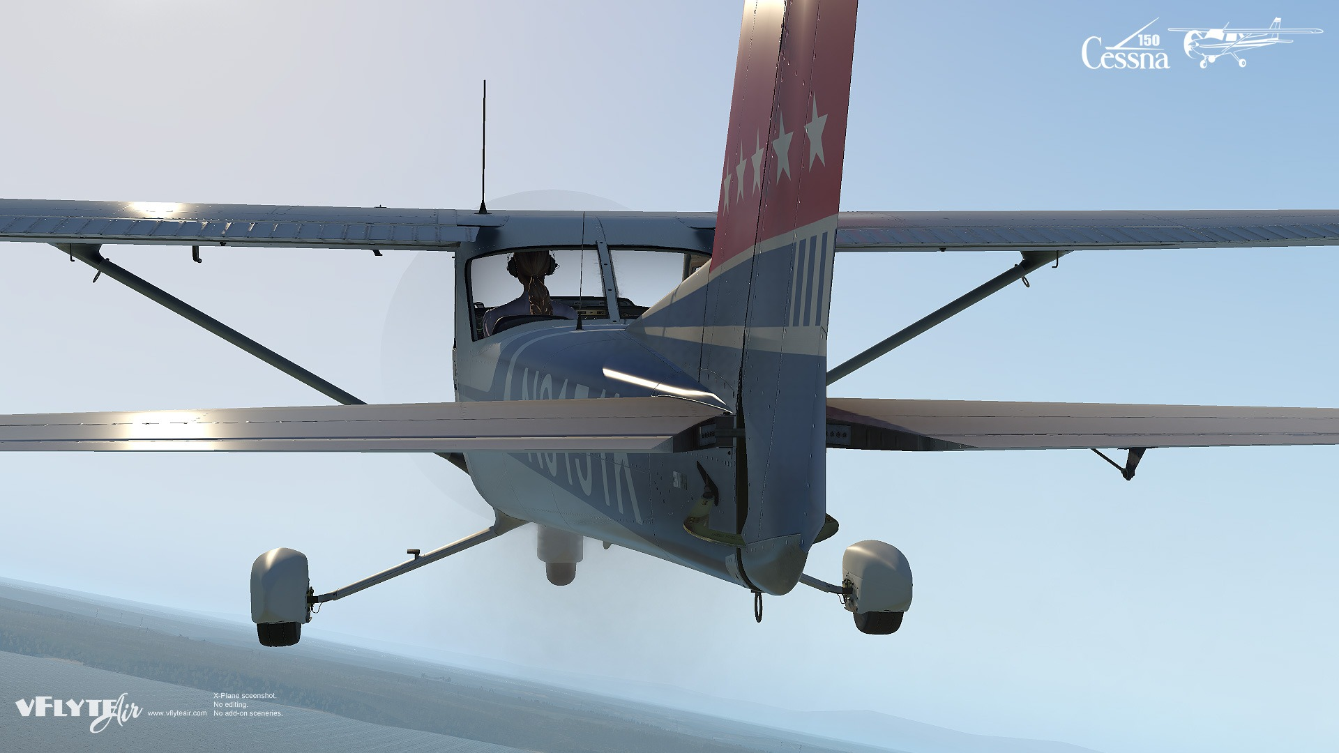 vFlyteAir Cessna 150 Commuter for X-Plane 11