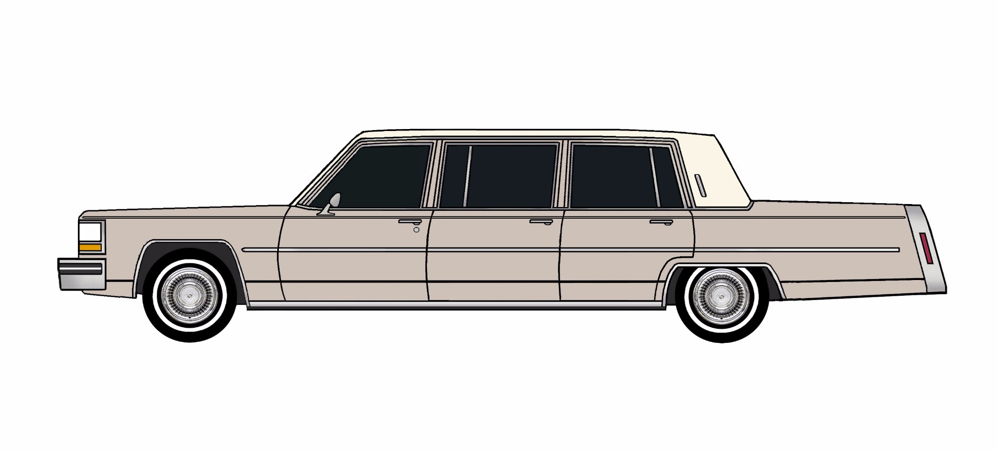 1980 Cadillac Fleetwood Funeral Limo LAVENDER