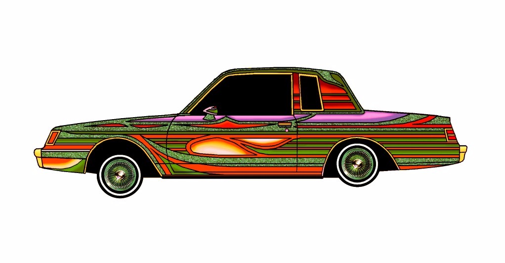 1985 Buick Regal LOWRIDER Jungle Fever