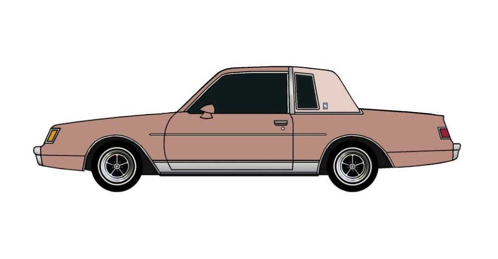 1981 Buick Regal CLAY ROSE