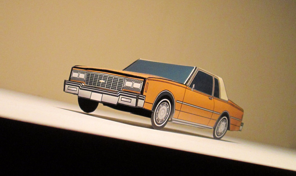 1980 Chevy Impala Coupe INDIAN YELLOW