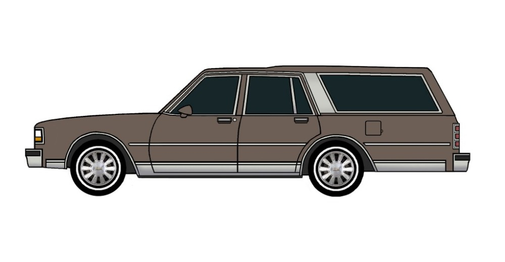 1988 Chevy Caprice Wagon FRENCH GREY