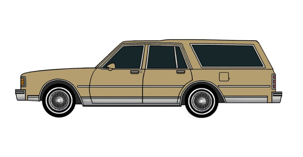 1980 Chevy Caprice Wagon BRONZE