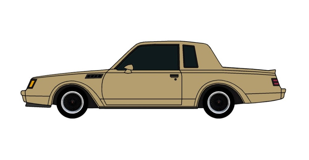1987 Buick Grand National GNX BRONZE