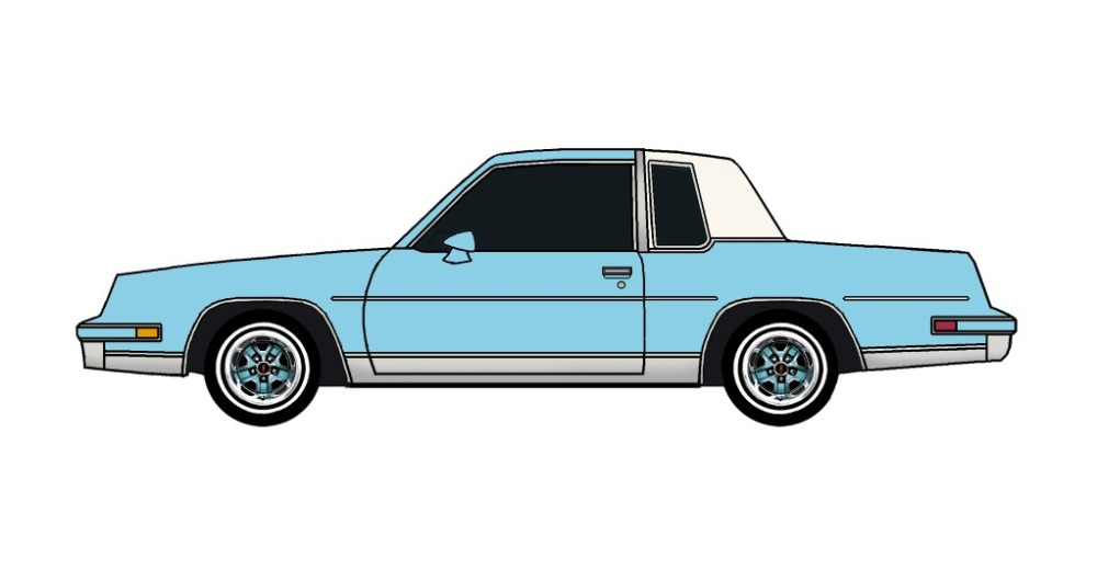 1982 Oldsmobile Cutlass SKY BLUE