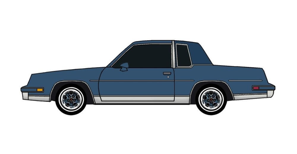 1984 Oldsmobile Cutlass SOFT BLUE