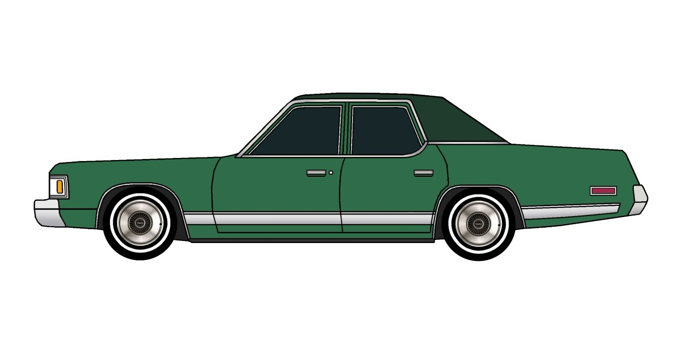 1977 Dodge Royal Monaco PINE GREEN