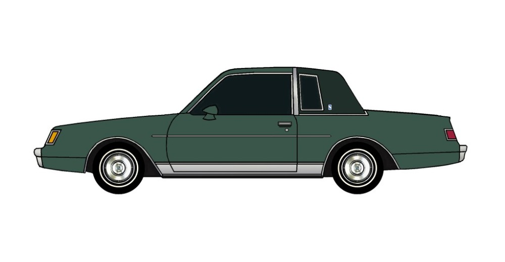 1982 Buick Regal FOREST GREEN