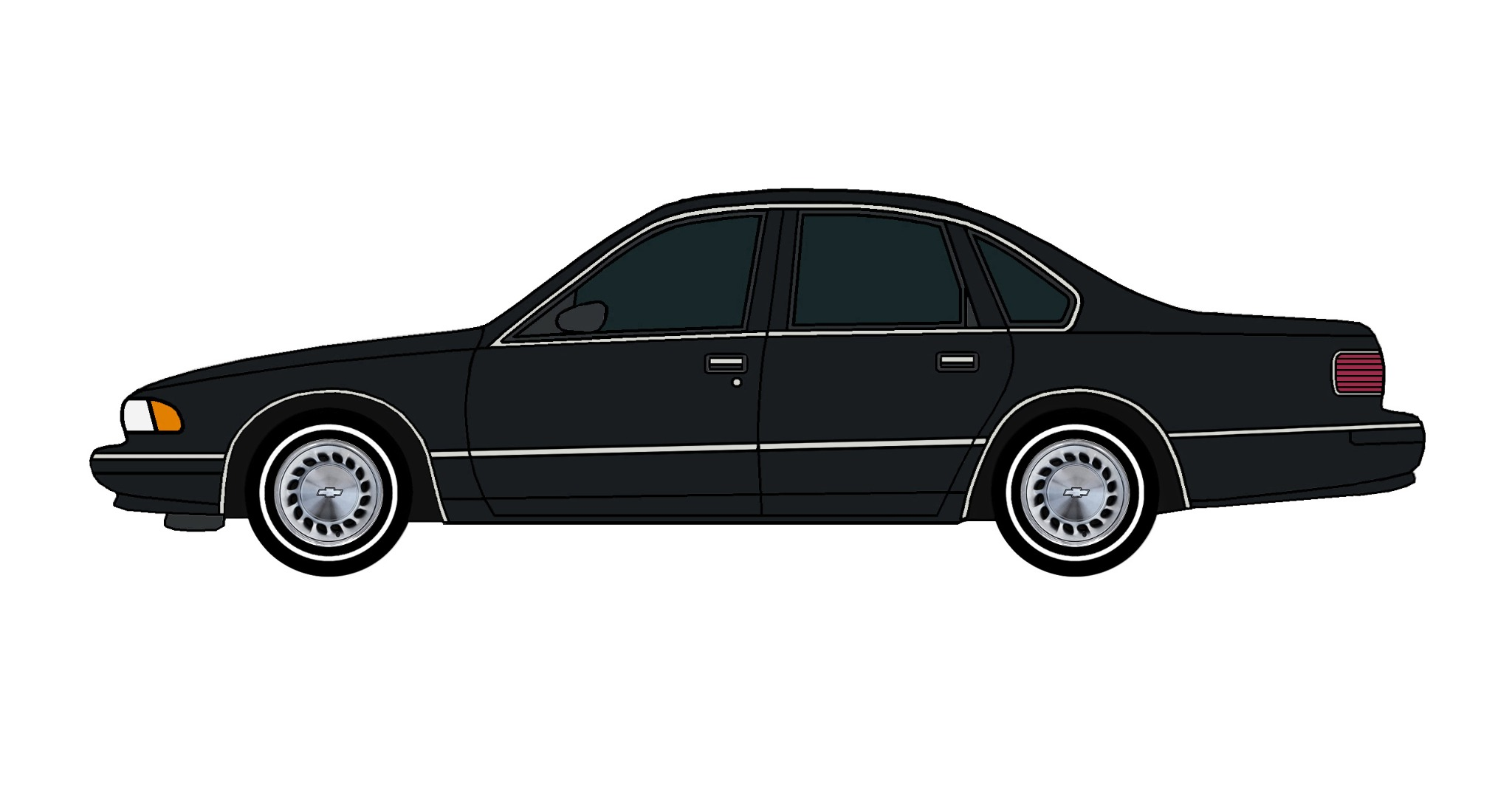 1996 Chevy Caprice BLACK