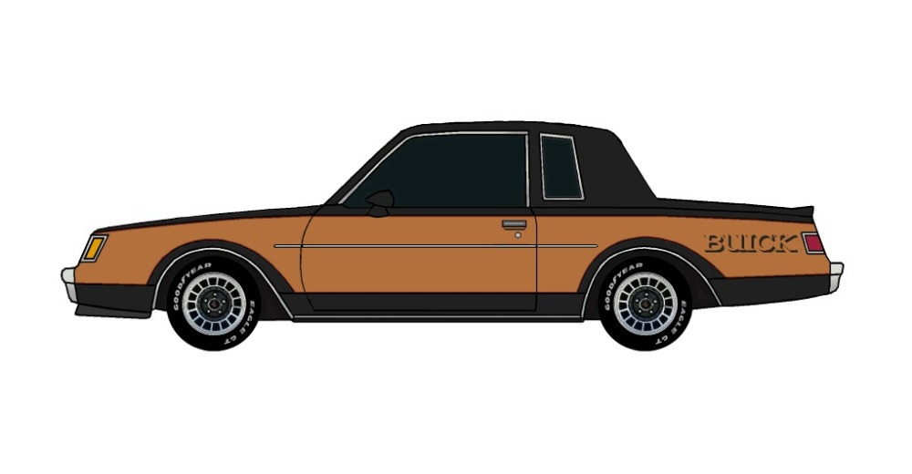 1982 Buick Grand National BLACK & COPPER