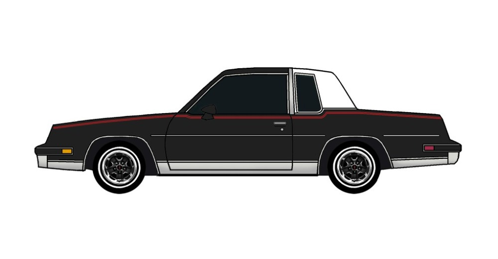 1981 Oldsmobile Cutlass BLACK