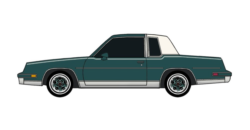 1981 Oldsmobile Cutlass TEAL