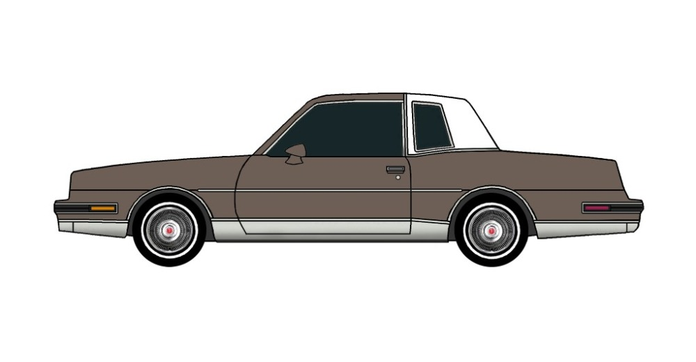 1986 Pontiac Grand Prix FRENCH GREY