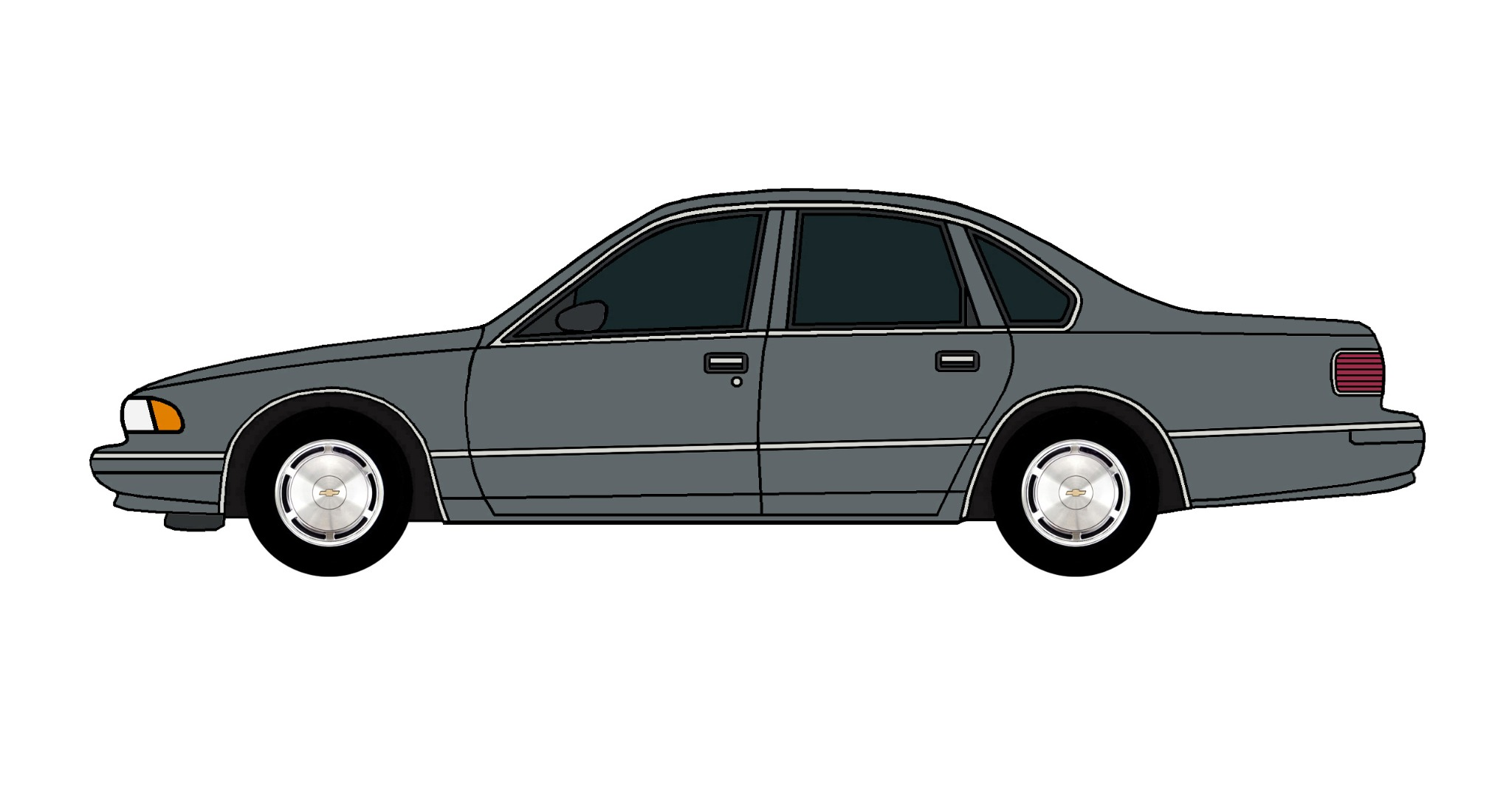 1995 Chevy Caprice CHARCOAL
