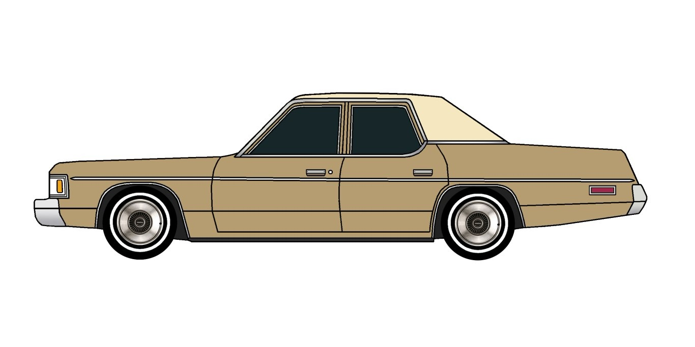 1976 Dodge Royal Monaco BRONZE