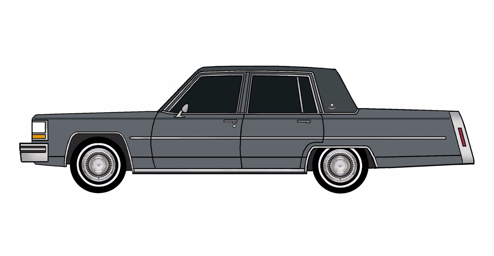 1981 Cadillac Deville CHARCOAL