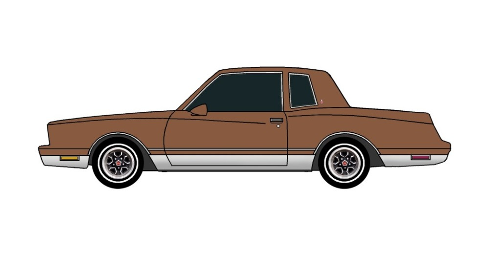 1981 Chevy Monte Carlo LIGHT BROWN
