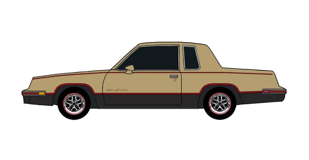 1984 Oldsmobile Cutlass 442 BRONZE