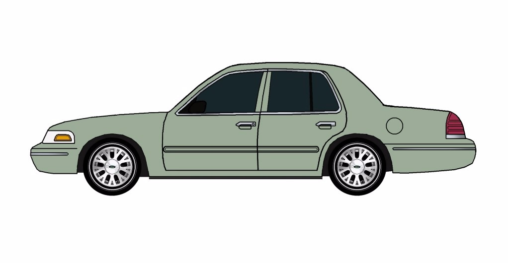 2005 Ford Crown Victoria JADE GREEN