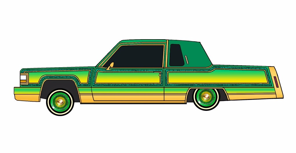 1984 Cadillac Fleetwood Coupe LOWRIDER Mellow Yellow