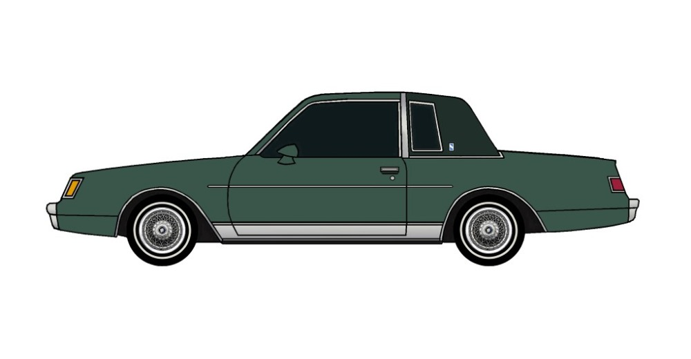 1981 Buick Regal FOREST GREEN