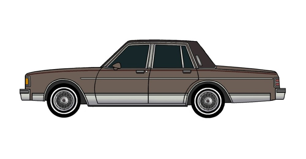 1986 Pontiac Parisienne FRENCH GREY
