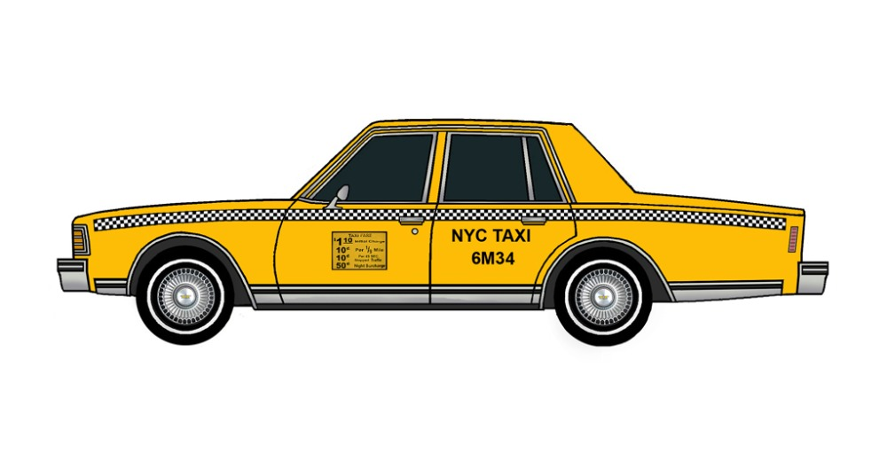 1979 Chevy Caprice NYC Taxi