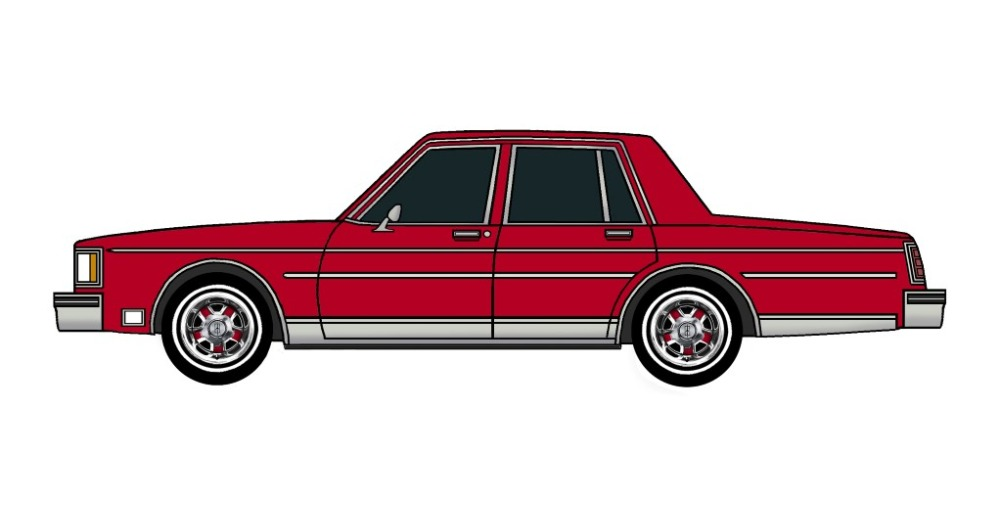 1983 Oldsmobile Delta 88 BRIGHT BURGUNDY