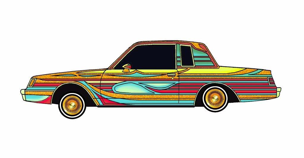 1985 Buick Regal LOWRIDER Goldenrod