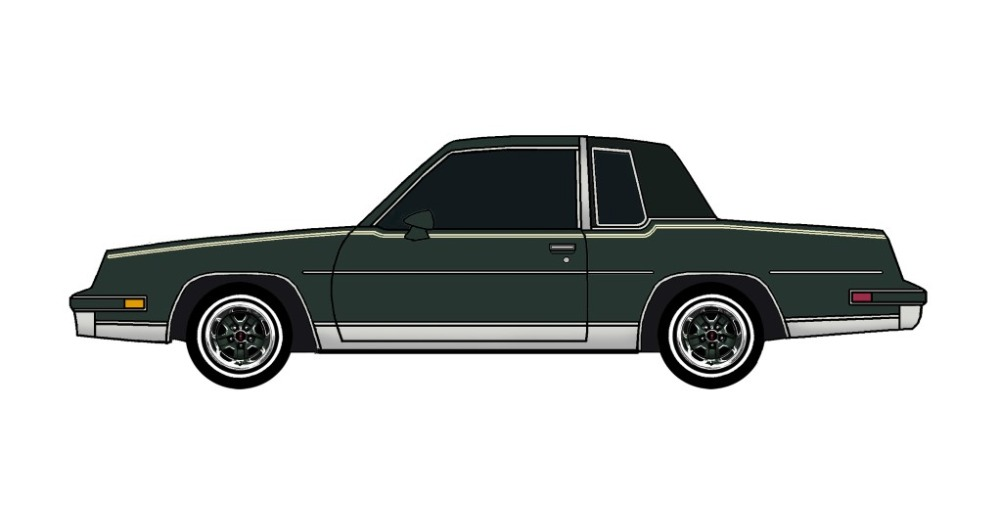 1981 Oldsmobile Cutlass DARK EVERGREEN