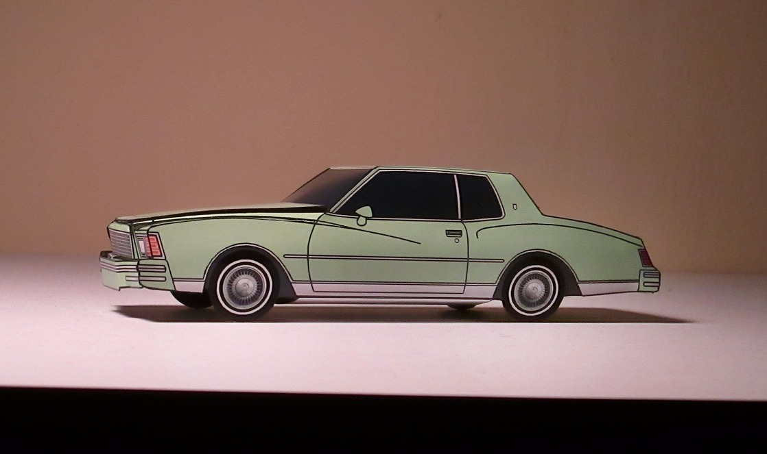 1979 Chevy Monte Carlo GOLDEN OLIVE