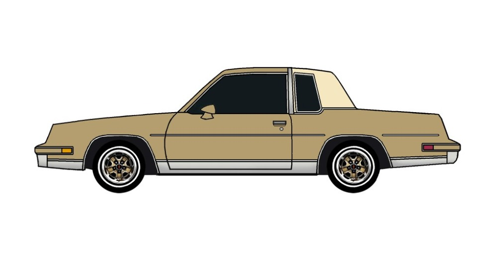 1984 Oldsmobile Cutlass BRONZE
