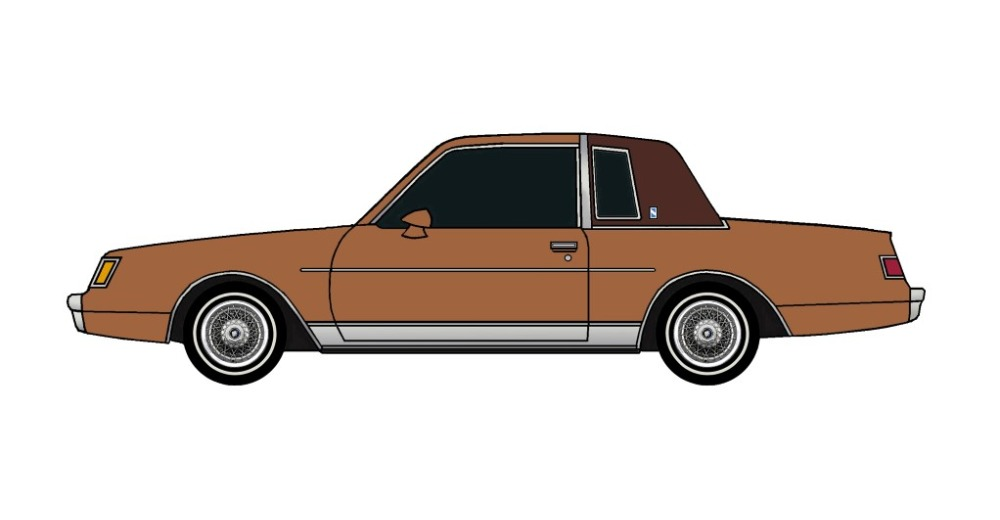 1981 Buick Regal SIENNA BROWN