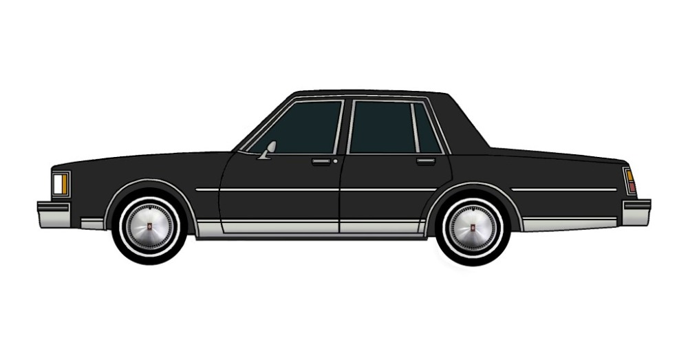 1984 Oldsmobile Delta 88 BLACK