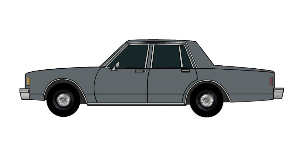 1985 Chevy Impala 9C1 CHARCOAL