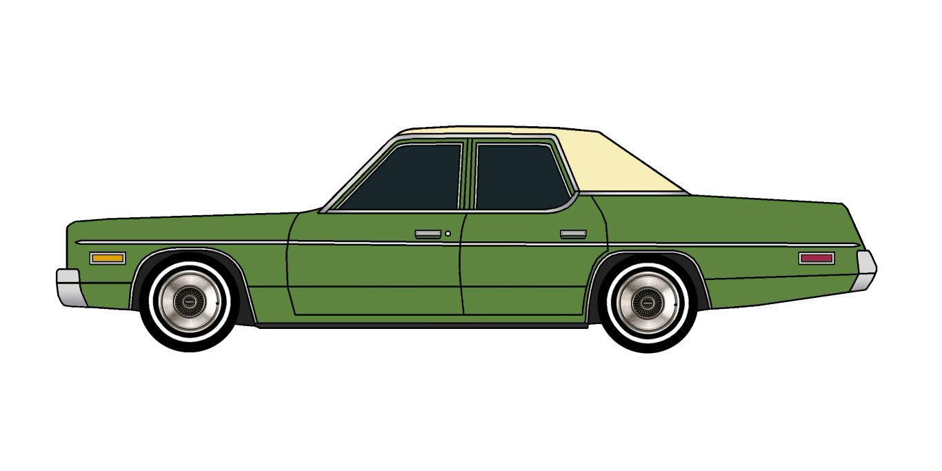 1975 Dodge Monaco SUMMER GREEN