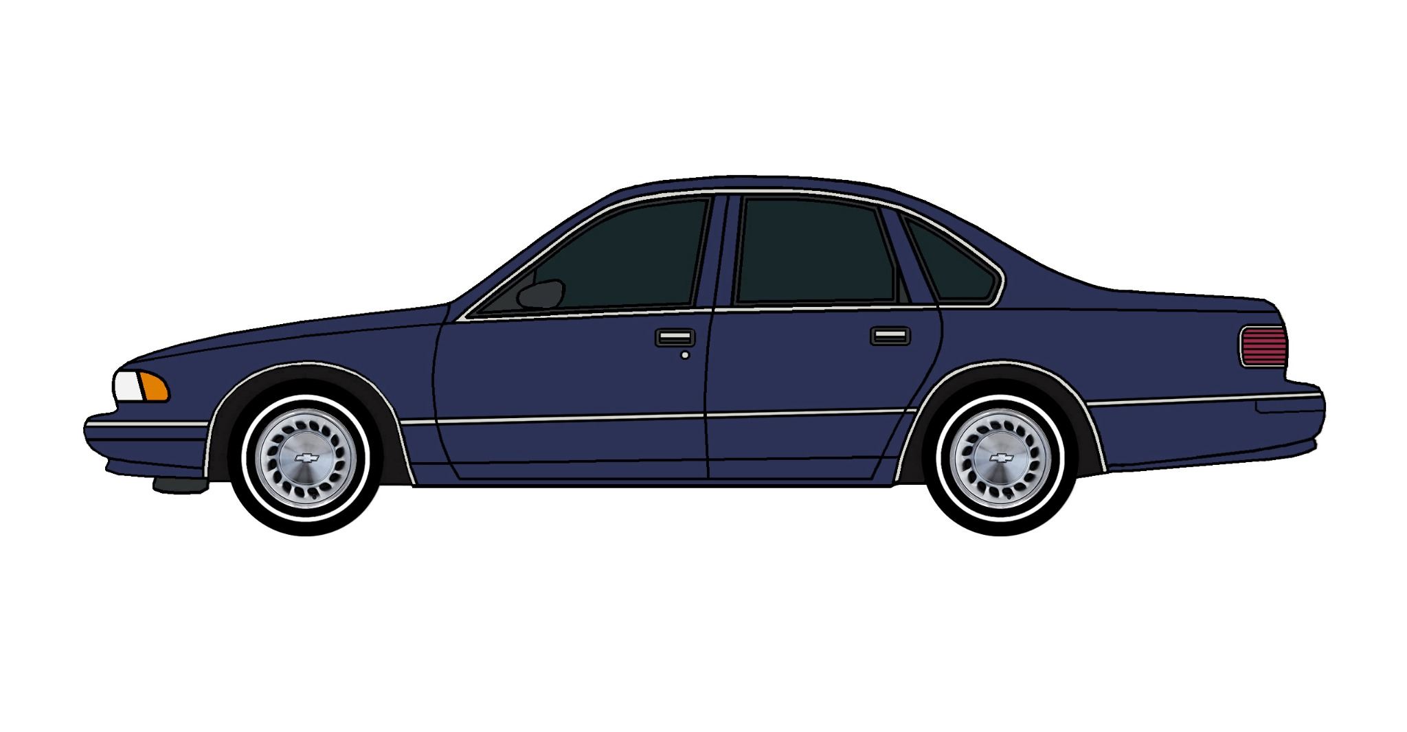 1996 Chevy Caprice PERIWINKLE