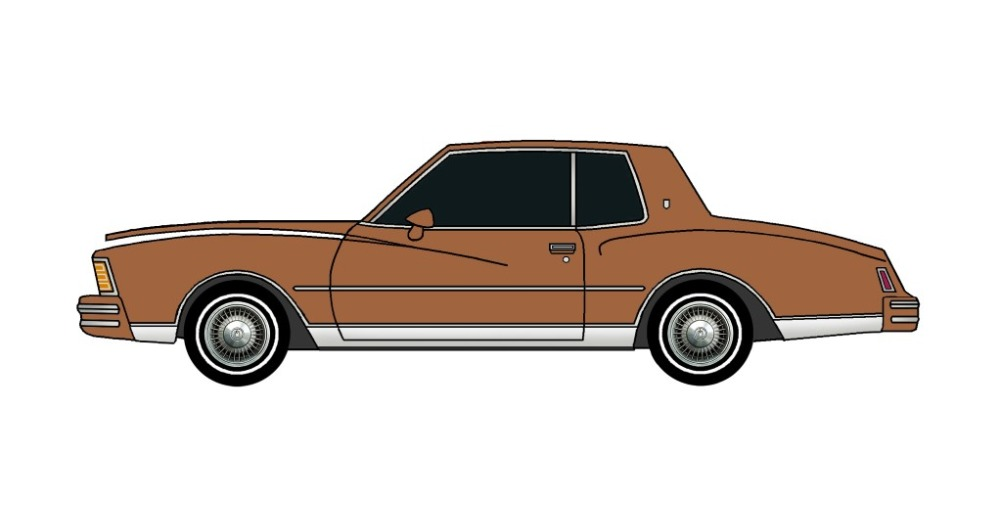1979 Chevy Monte Carlo SIENNA BROWN