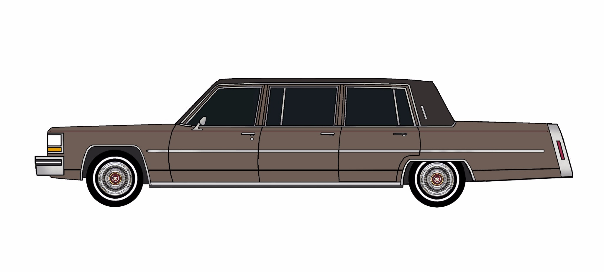 1981 Cadillac Fleetwood Funeral Limo FRENCH GREY