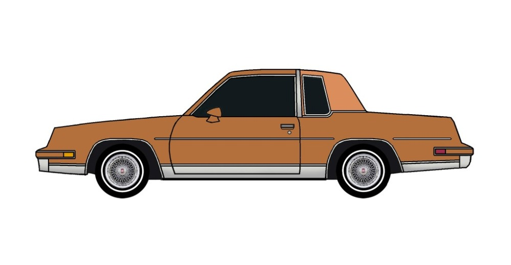 1982 Oldsmobile Cutlass Calais COPPER