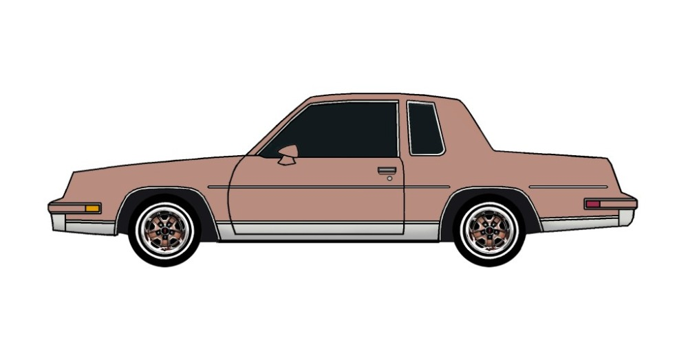 1985 Oldsmobile Cutlass CLAY ROSE