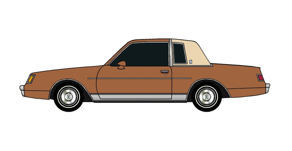 1982 Buick Regal SIENNA BROWN