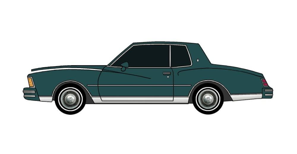 1979 Chevy Monte Carlo TEAL