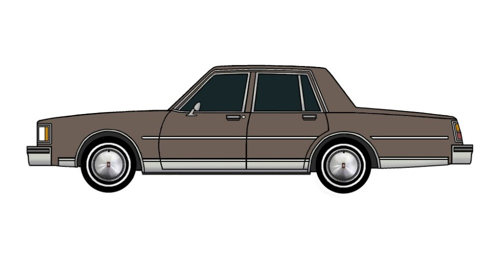 1984 Oldsmobile Delta 88 FRENCH GREY