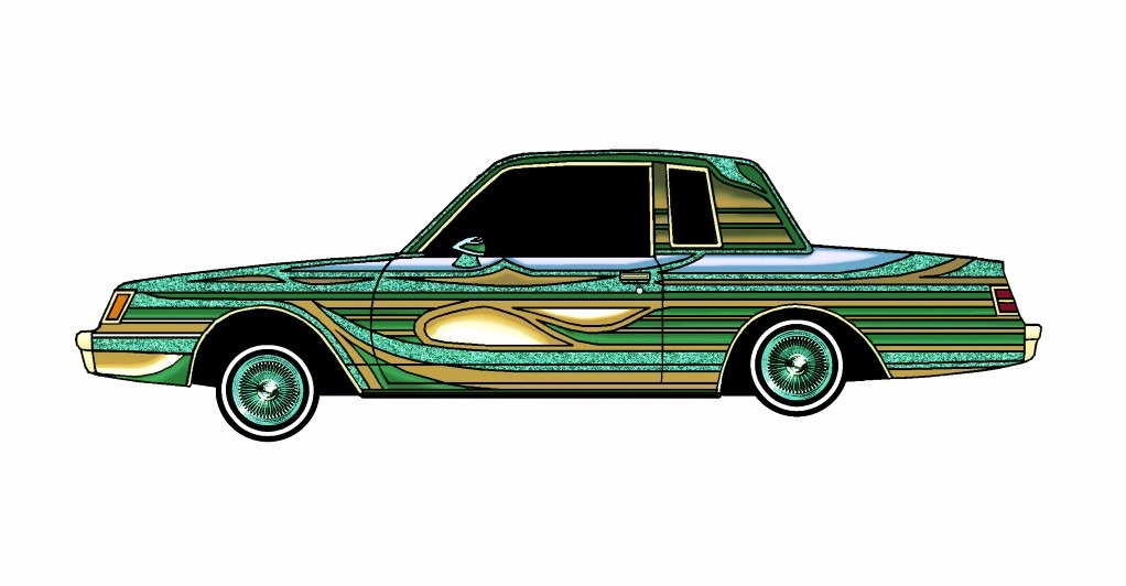 1985 Buick Regal LOWRIDER Emerald Gold